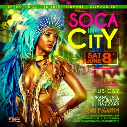 Soca in the City Promo Mix Pt 1