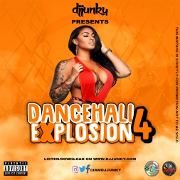 DANCEHALL EXPLOSION VOL.4 MIXTAPE
