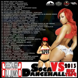 Soca vs Dancehall 2013 Mixtape