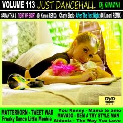 Dj Kimoni JUST DANCEHALL Volume 113   Love Till The Morning
