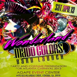 MADD COLORS BAND LAUNCH 2013 Soca mix