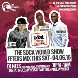 FETERS MIX - The World Soca Show