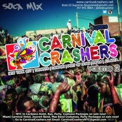 CarnivalCrashers.net Vol 2 2015 Soca