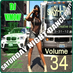 Dj KIMONI SMASH-A-THON DANCE HIP HOP SOCA DANCEHALL Volume 34