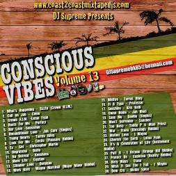 DJ Supreme Presents:Conscious Vibes 13