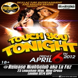 TOUCH YOU TONIGHT PROMO MIX CD