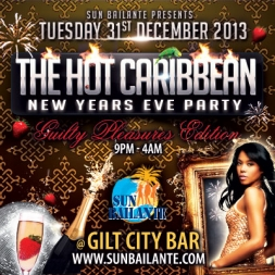 Hot Caribbean NYE Party 2014