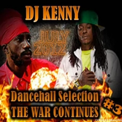 The War Continues Vol 3 Selection Dancehall Mix    July 2012