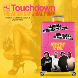 TOUCH DOWN - TRINIDAD CARNIVAL 2018 SOCA