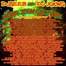 Dj joking & Djseeb - More Zion Reggae culture mixtape 2017