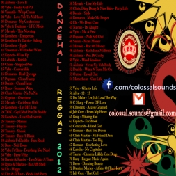 Colossal 2012 2013 Dancehall Reggae