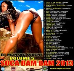 Soca Bam Bam 2013 Volume 5