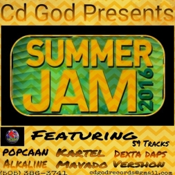 Cd God Summer Jam, Dancehall Mixtape, 2016