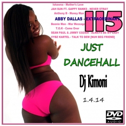 Dj Kimoni JUST DANCEHALL Volume 115   Money Money Man